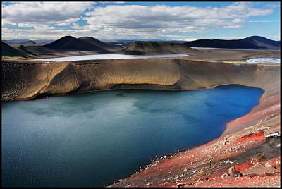 Ljótipollur crater lake