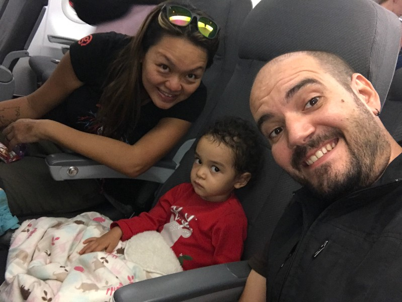 flying wow air to iceland with kids