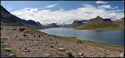 View of Altafjörður, near Súðavík