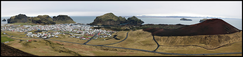 Panorama from Helgafell