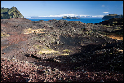 Trail on the new lava