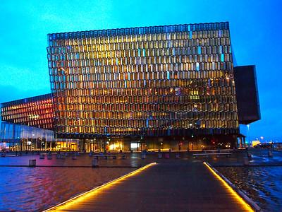 Harpa opera house in Reykjavik