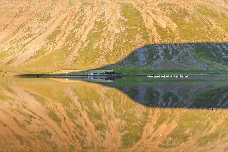 Skutulsfjörður, Ísafjörður, Iceland.