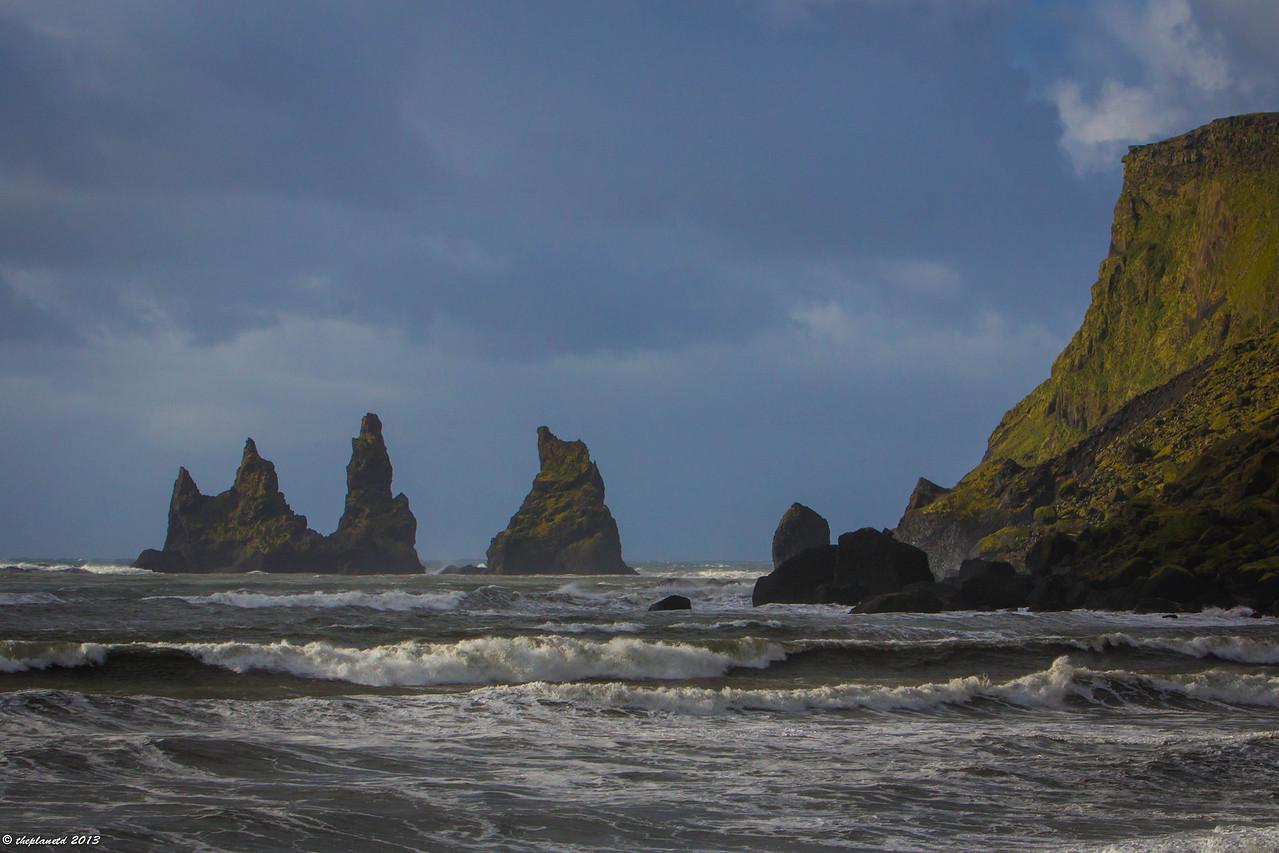 The Trolls of Vik, Iceland