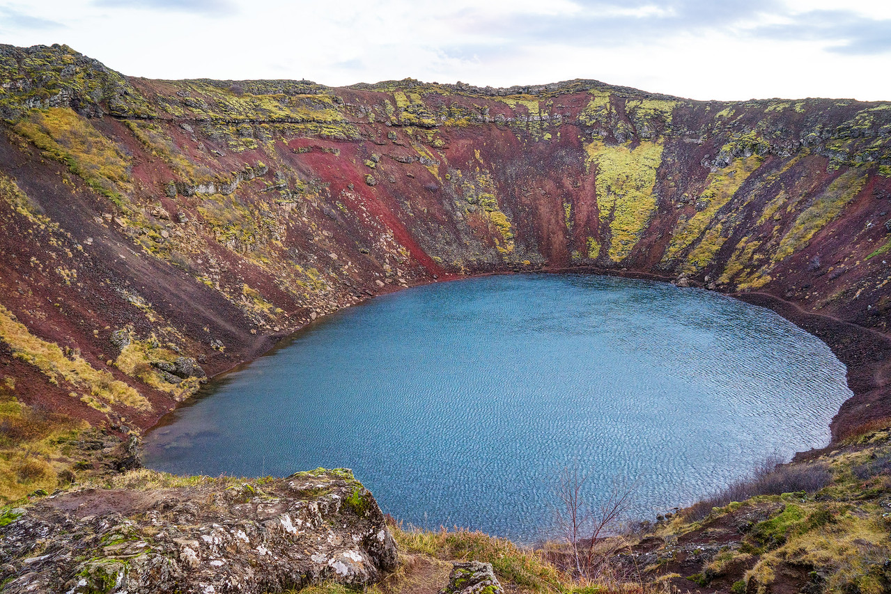 Volcanic Crater Iceland