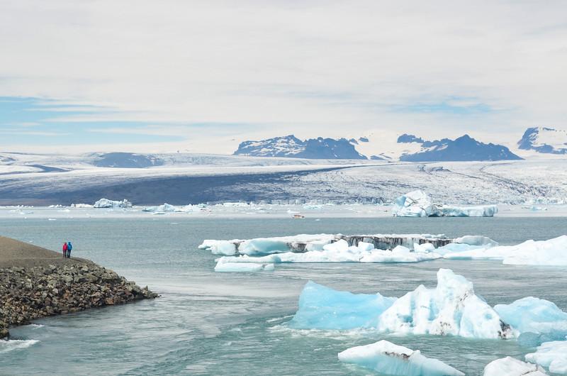 The iceberg lake Jökulsarlón