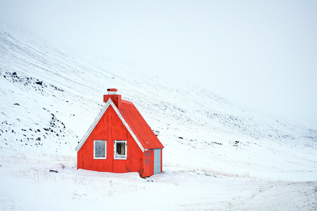 Iceland Mountain Cabin