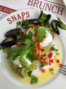 Brunch at Snaps Bistro in Reykjavik
