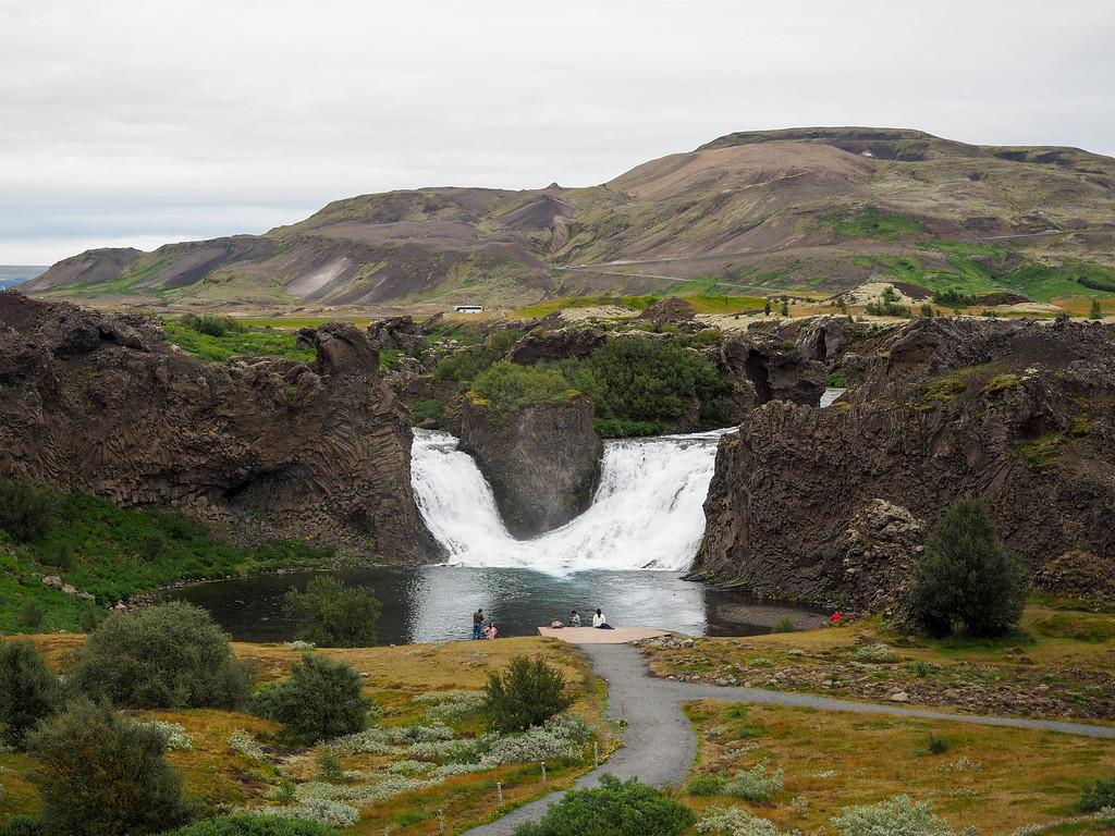 Hjálparfoss in Iceland