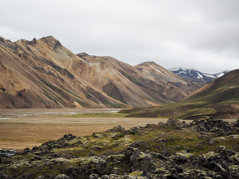 Rainbow mountains in Landmannalaugar