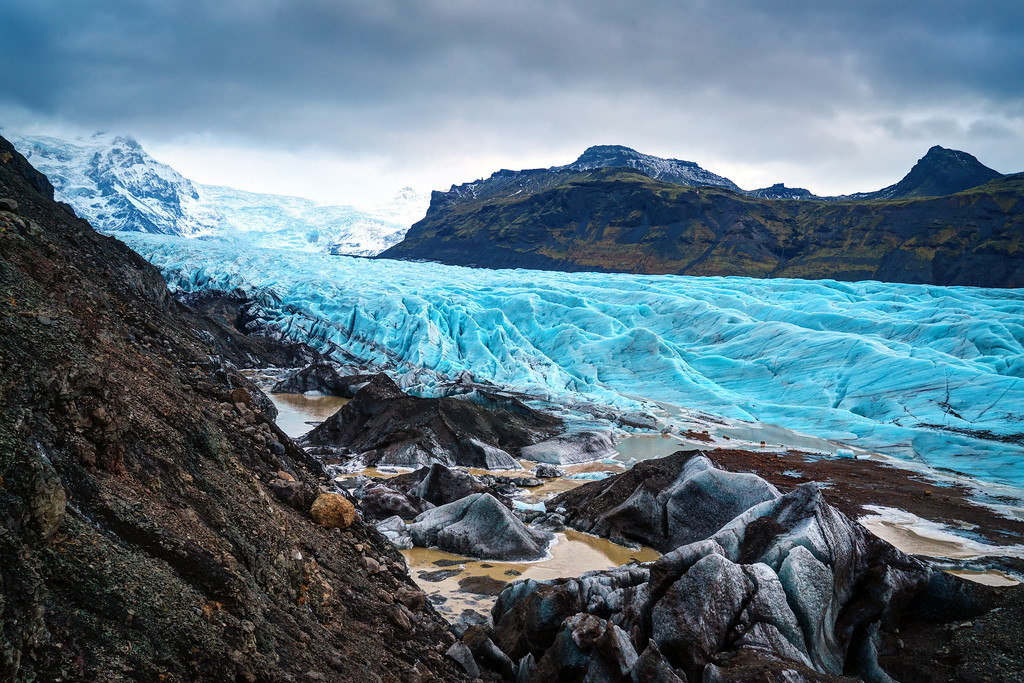 Iceland Glacier Photos