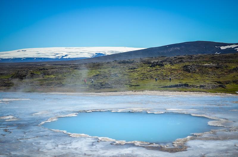 Geothermal activity in Hveravellir