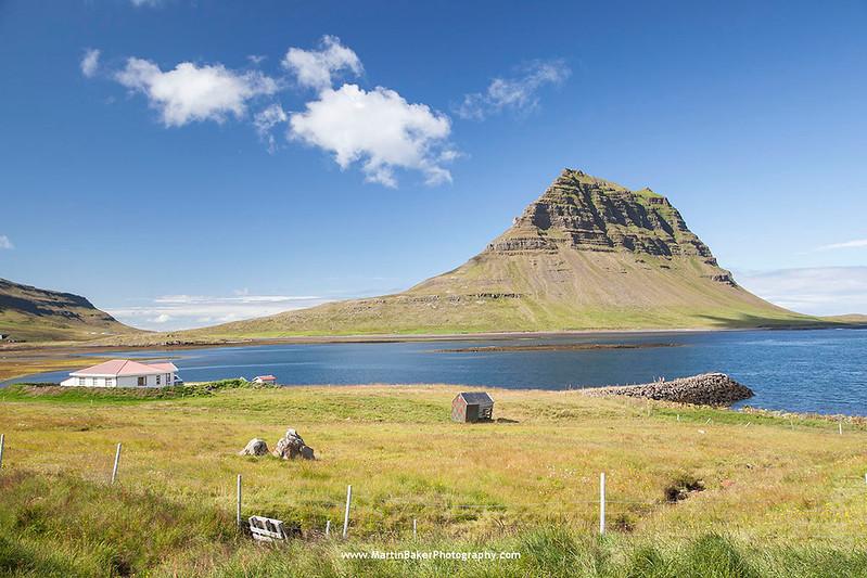 Kirkjufell Mountain, Grundarfjörður, Snæfellsnes peninsula, Iceland.