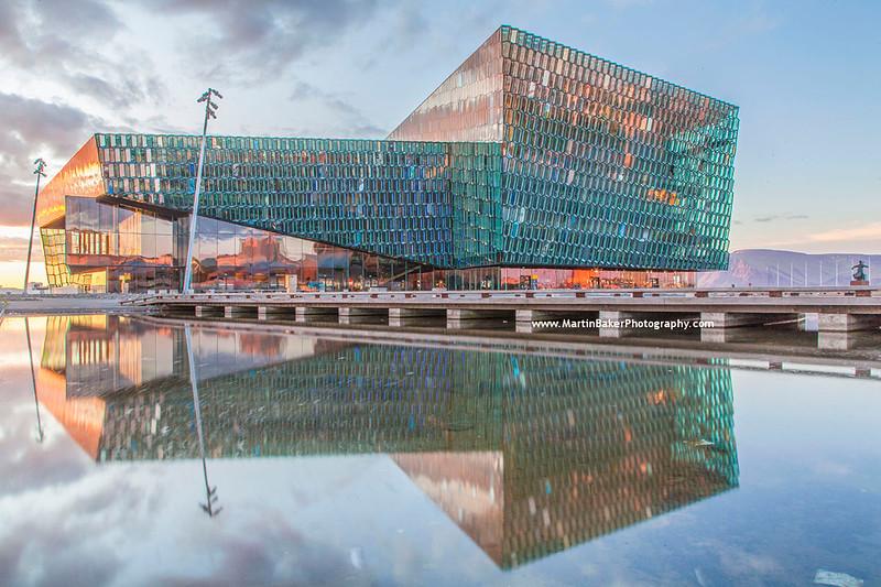 Harpa Concert Hall, Reykjavik, Iceland.