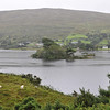 Driving through Connemara - the wild region west of Galway encompasses bogs, mountains and a rugged coastline.