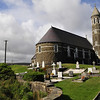 A beautiful old church at the foot of Errigal, the highest of the Derryveagh Mountains.