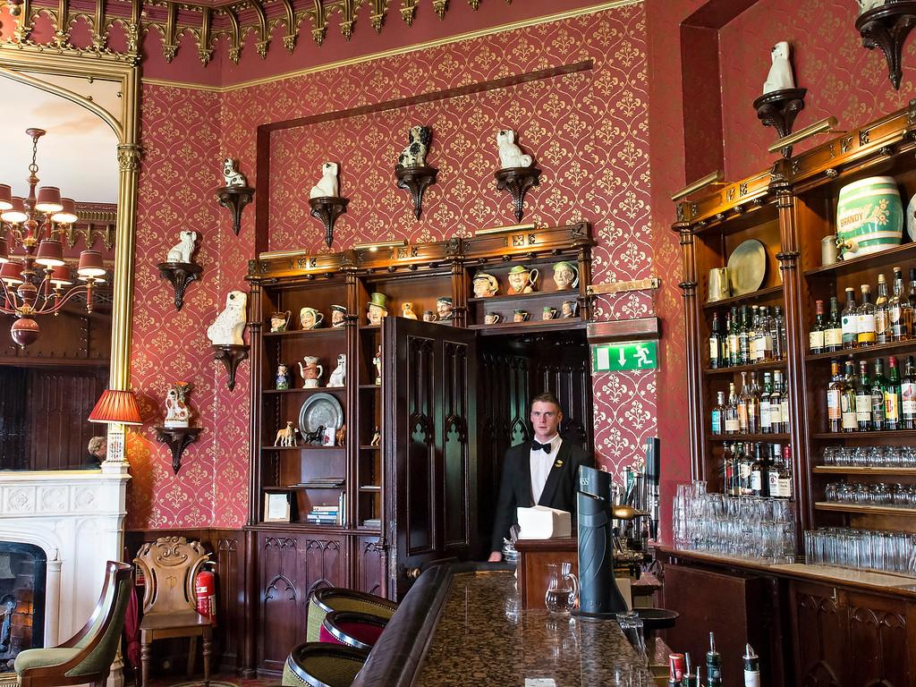 Bar at Dromoland Castle