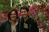 Terri and Paula, Botanic Garden in Belfast