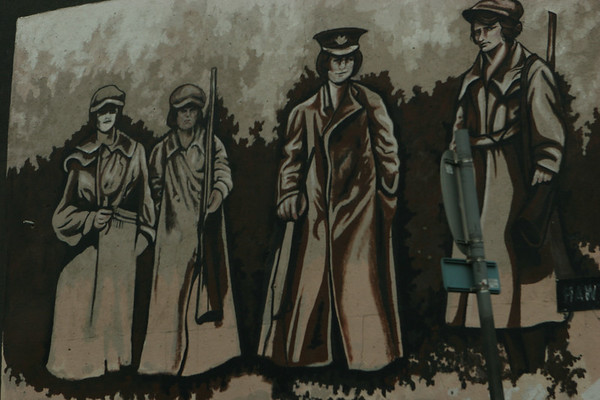 Belfast Murals, Co Antrim, Northern Ireland