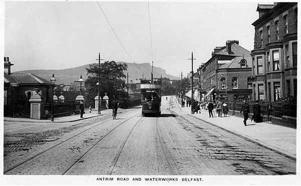 Antrim Road and the Waterworks