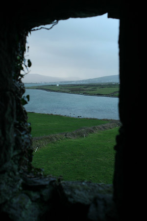 Cahirciveen and Ballycarbery Castle, Co Kerry, Ireland