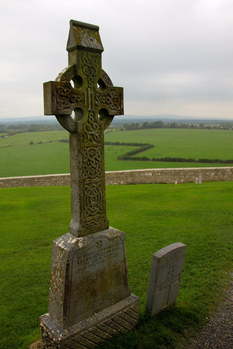 Celtic Cross - Rock of Cashel, Ireland - Photo