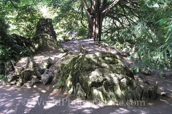 Cork - Blarney Castle - Rock Close - The Witch Stone