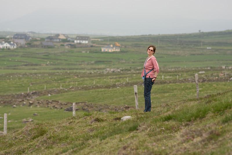 Terri in Dingle, Ireland