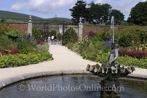Dublin - Powerscourt Estate - Bamburg Gate from Walled Gardens