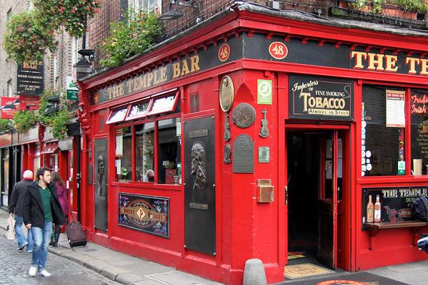 The Temple Bar - Dublin, Ireland