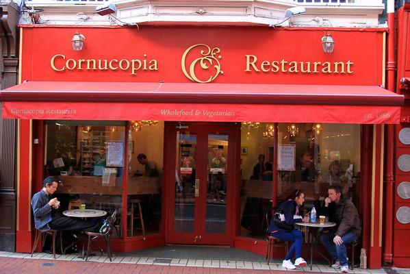 Cornucopia Restaurant - Dublin, Ireland