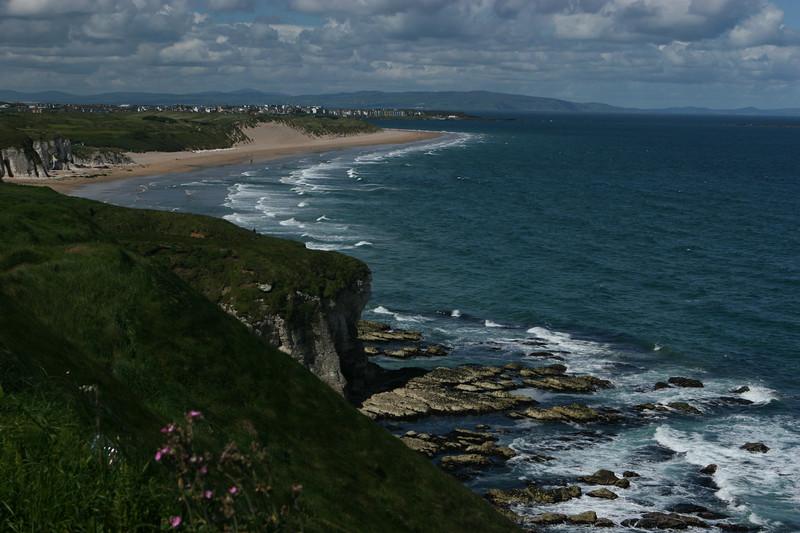 Coast near Dunluce Castle