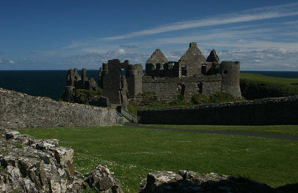 Dunluce Castle, Co Antrim, Northern Ireland