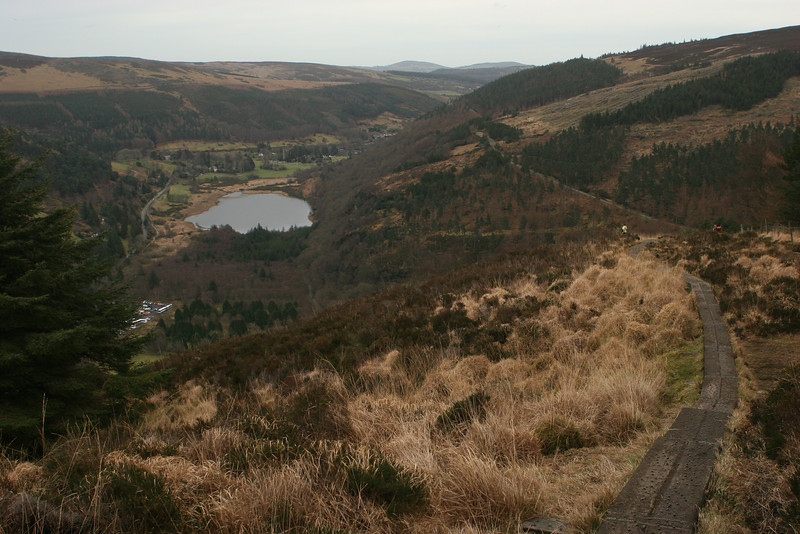 Trail on the Spink, Glendalough