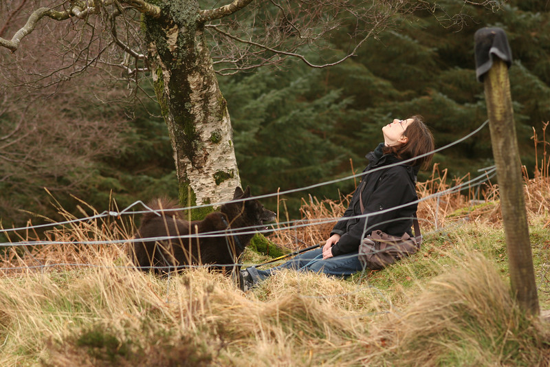 Terri and Coco, Glendalough