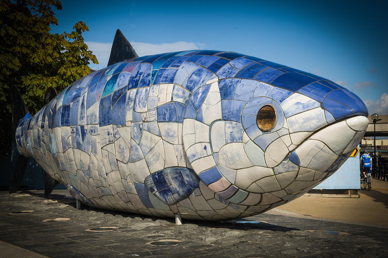 Big Fish' Sculpture, Belfast