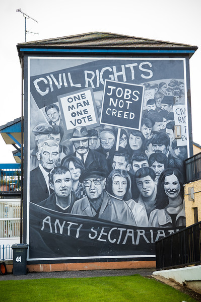 The People's Gallery - 1 of 12 Murals by the Bogside Artists
