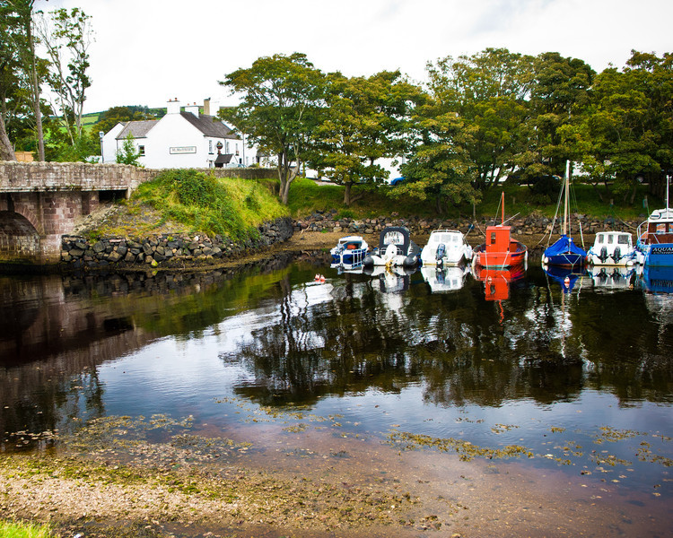 Cushendun Glen, Antrim Coast