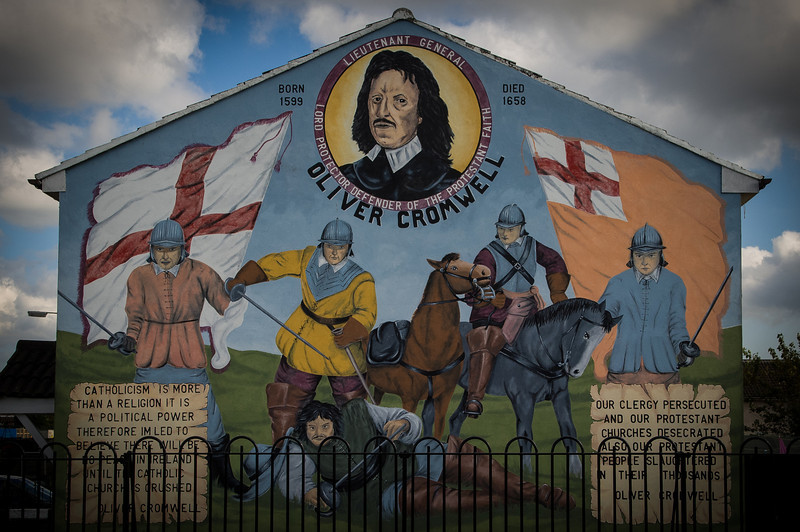 Shankhill Neighborhood Murals, Belfast