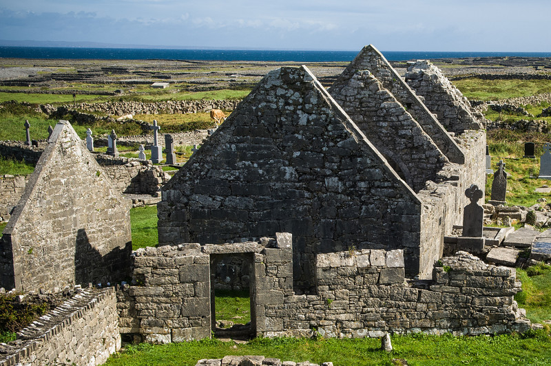 Seven Churches Ruin, Aran Islands
