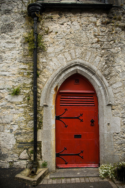 Church Door, Adare Village