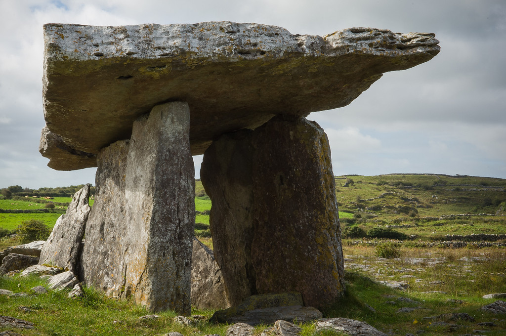 Poulnabrone, Megalithic Tomb circa ~ 3800 BC