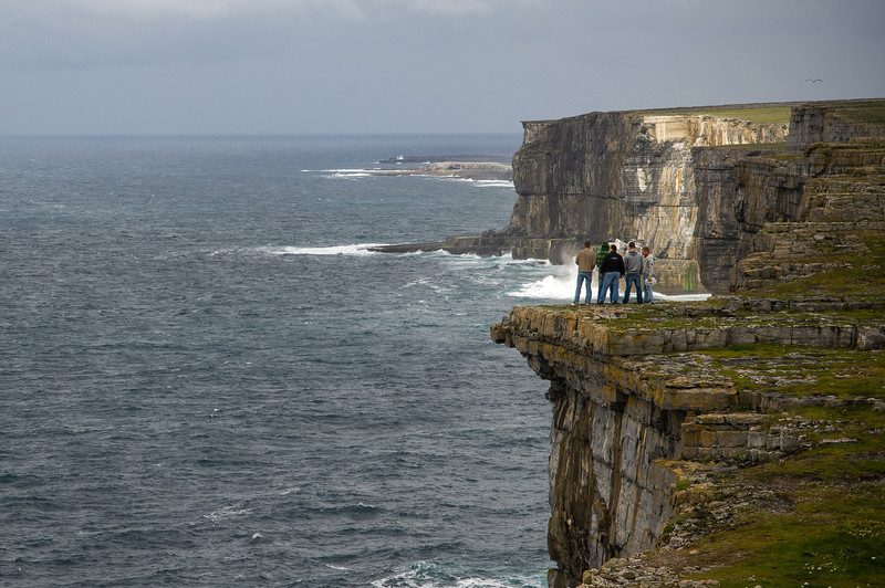 Cliffs of Dun Aengus Aran Islands, Ireland