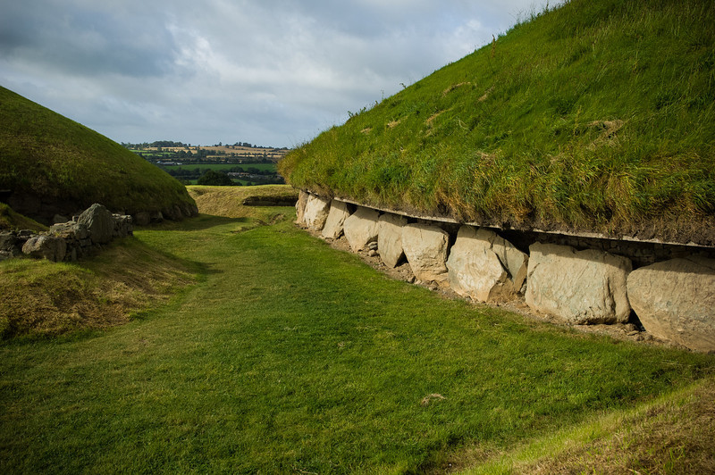 Knowth Megalithic Passage Tomb ~2500 BC