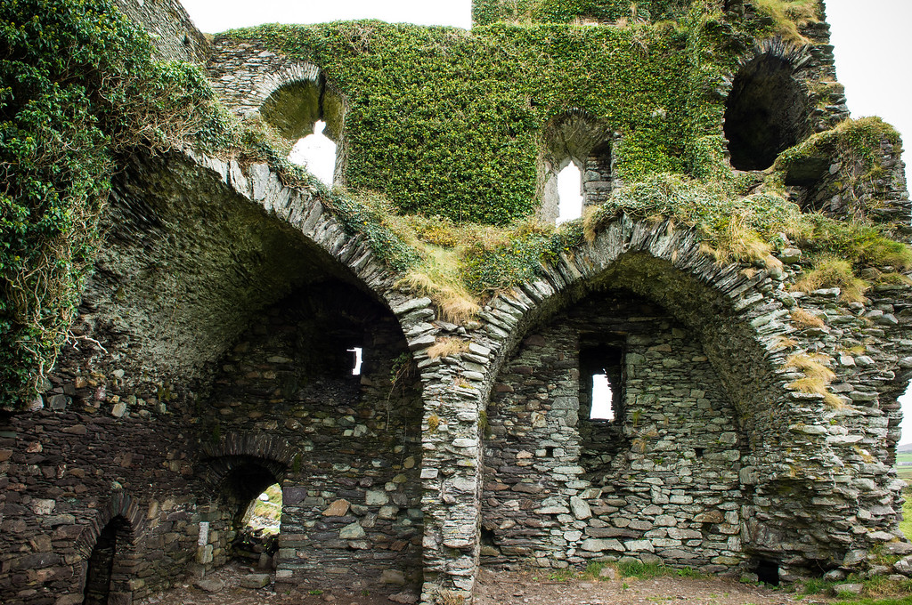 Ballycarberry Castle ruin, 15th Century