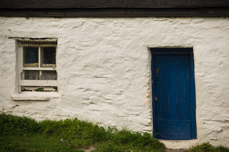 Blue Door Cottage. Great Blasket Island
