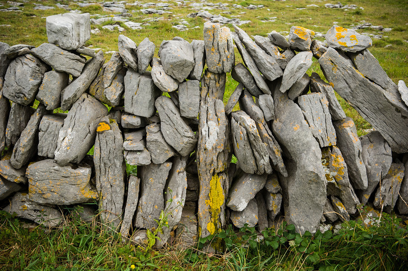 Rock Fence Aran Islands, Ireland