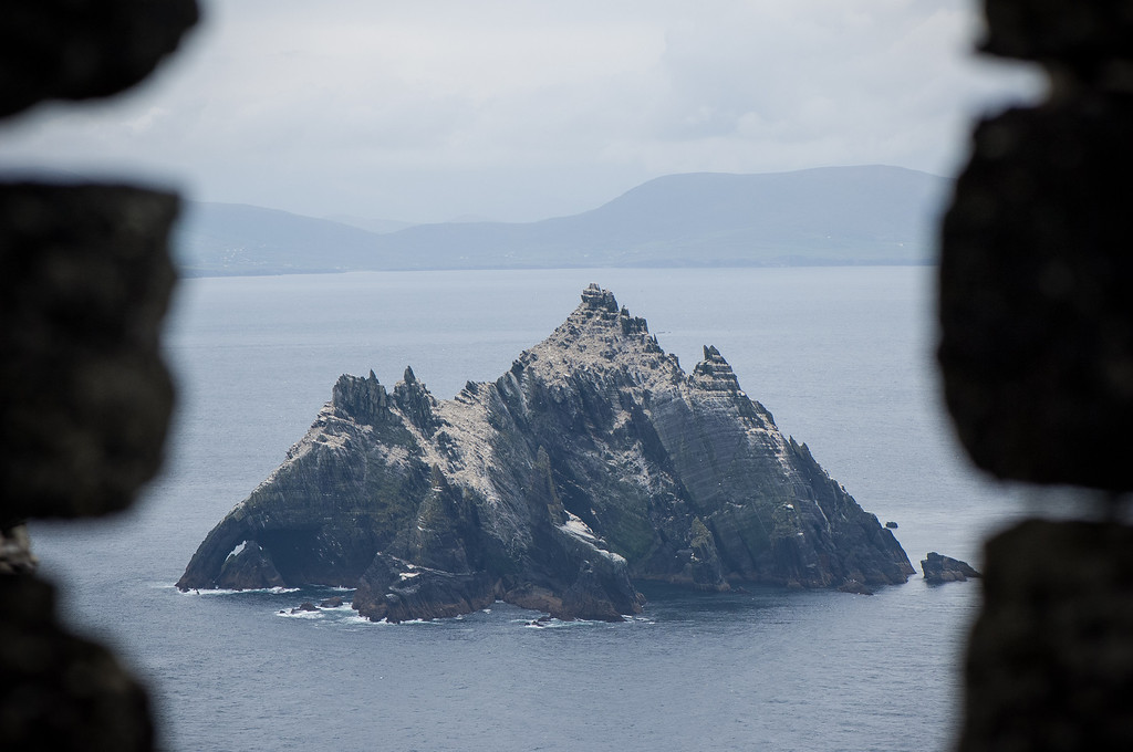 View of Small Skellig Island
