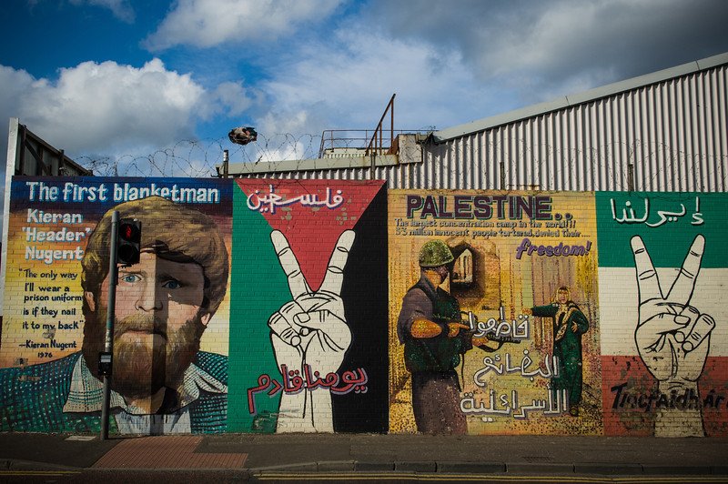 Falls Road Neighborhood Murals, Belfast
