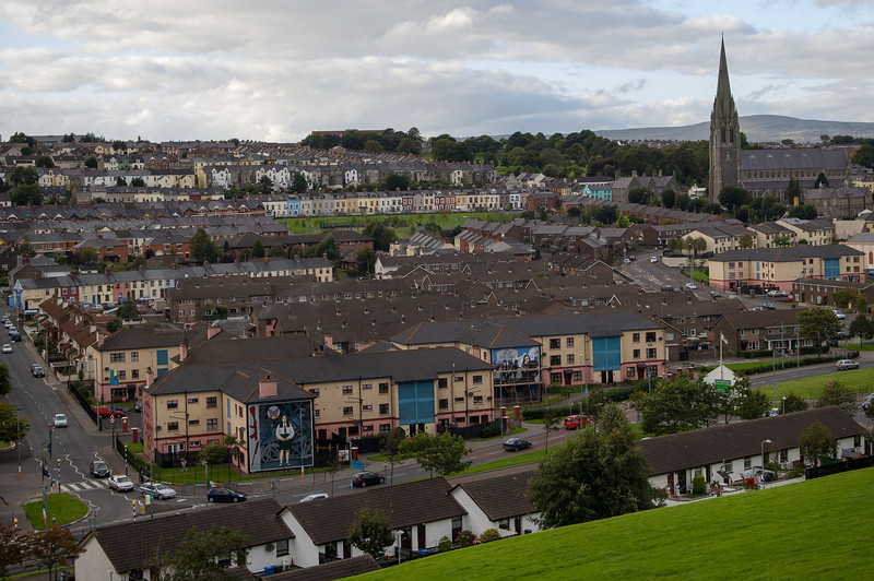 Bogside Neighborhood, Derry Island